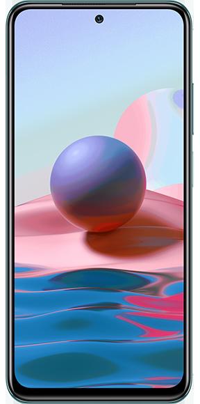 Xiaomi Redmi Note 10 128GB лазурное озеро | Смартфоны | Телефоны | Виртуальный магазин | A1 - провайдер телеком-, ИКТ- и контент-услуг